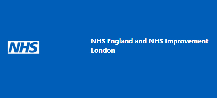 NHS England and NHS Improvement banner